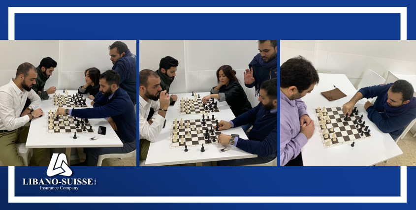 Libano-Suisse launches its new chess club for employees and their families