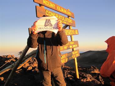 Libano-Suisse at Kilimanjaro